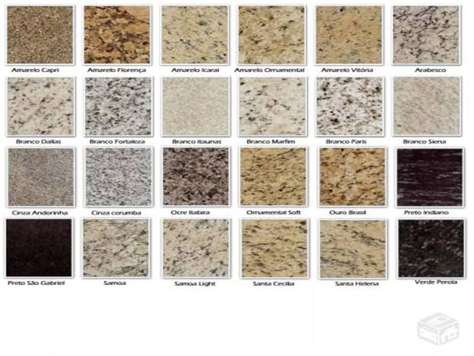 Tipos de granito ideas de disenos for Tipos de granitos